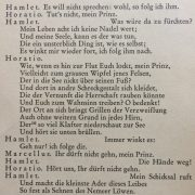 """Auszug aus """"Hamlet"""""""